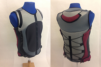 Stringham's deep pressure therapy vest, which will help people with autism asdfasdfasf