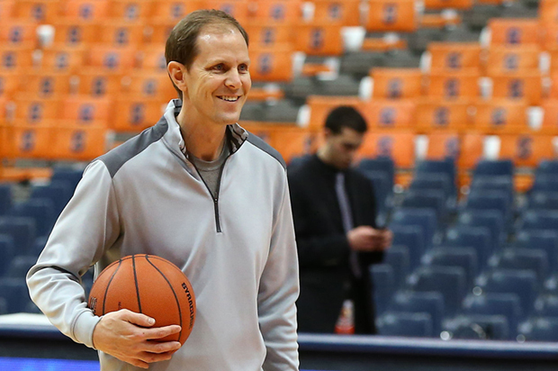 Mike Hopkins Formally Named Men S Basketball Head Coach