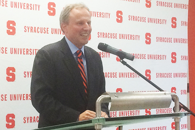 David Seaman is announced as the new dean of  the Syracuse University Libraries.