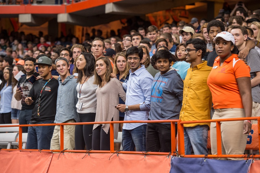 Syracuse Welcome 2015 New Student Convocation