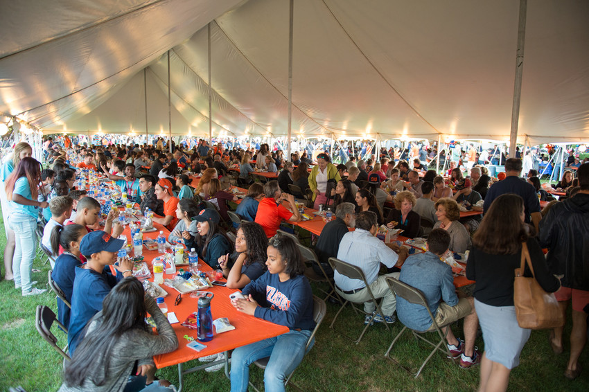 Syracuse Welcome 2015 BBQ Barbecue
