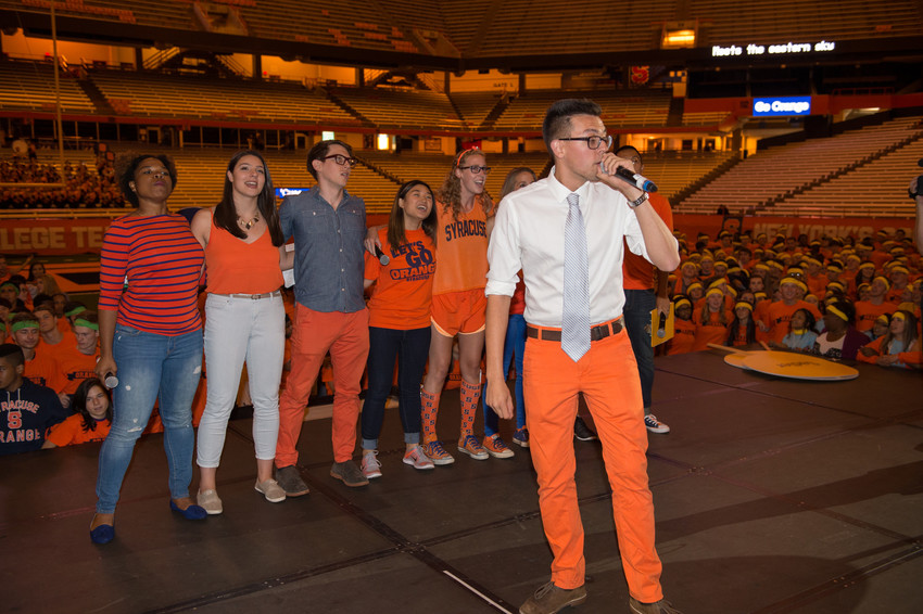 Syracuse Welcome 2015 Home to the Dome