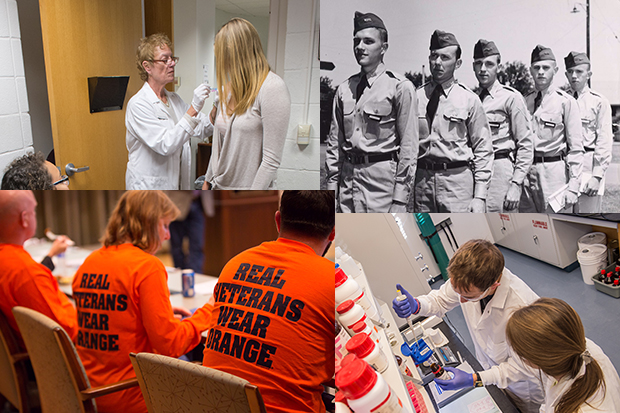 Syracuse has a number of key disciplinary and programmatic strengths—including the IVMF, public health, and biomaterials—that hold potential for the University to expand its historic commitment to veterans into the realm of healthcare.