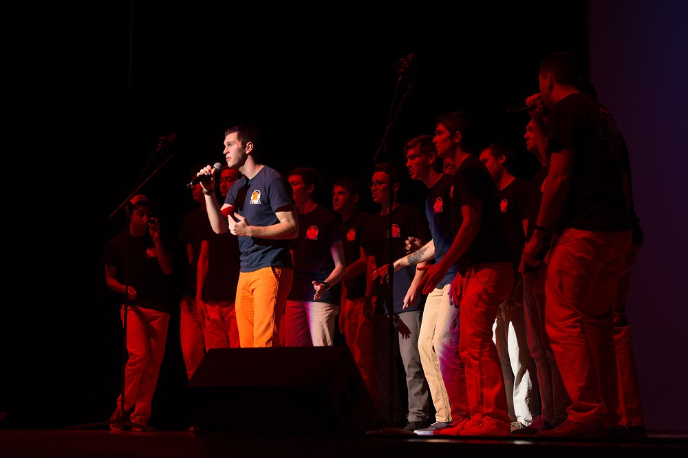 Family Weekend 2015 An A Cappella Evening