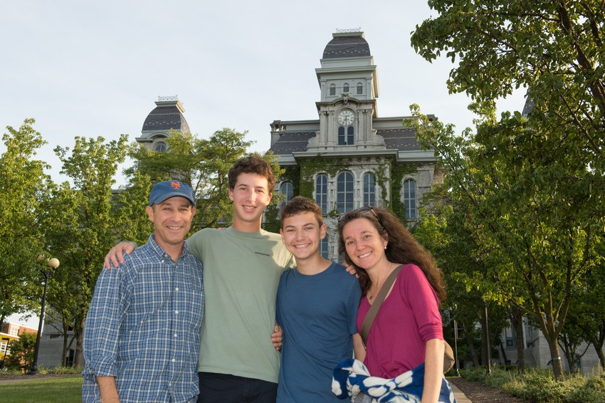 Family Weekend 2015 Parent and Family On Campus