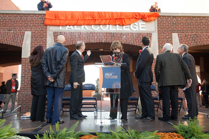 Orange Central Reunion Homecoming 2015 Falk College Building Dedication