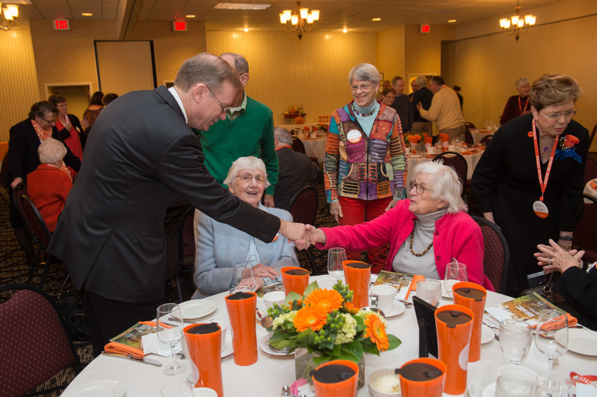 Orange Central Reunion Homecoming 2015 Melvin Eggers Senior Alumni Luncheon and Awards