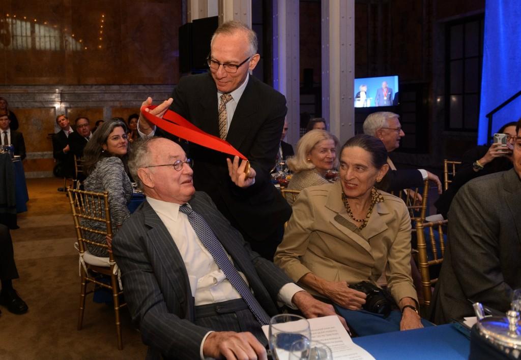 Richard Menschel receives award