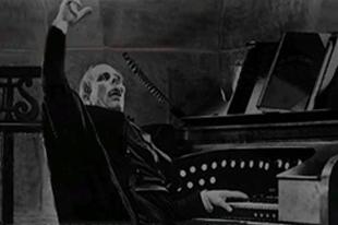 Halloween organ concert, poster