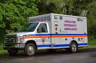 Syracuse University Ambulance will celebrate National Collegiate EMS Week the week of Nov. 9.