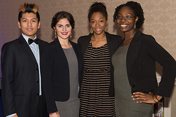 WellsLink Scholars at the 2014 Motivational Reception