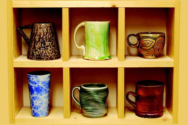 Shaped Clay Society mug sale