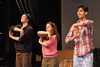 "A scene from ""New Kid"" (Photo by Brenna Merritt)"