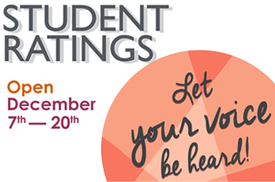 Student Ratings December 7-20