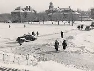 Main Campus, c. 1930s (Photo courtesy of Syracuse University Archives)
