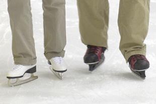 Ice skating at Tennity