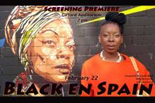 Black en Spain