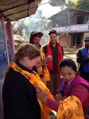 Nepal shawl