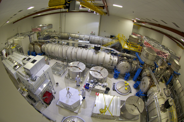 •	Inside the LIGO Hanford Observatory