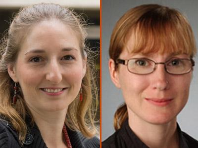 Lisa Manning, left, and Jennifer Schwarz