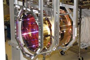 •Part of a LIGO detector, which detects ripples in space-time by using a laser interferometer