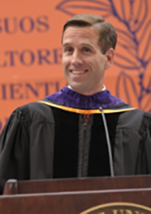Beau Biden at the 2011 College of Law Commencement