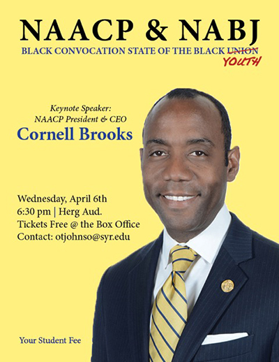 Black Convocation Flyer