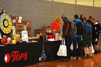 Attendees browse at a previous Health and Wellness Expo.