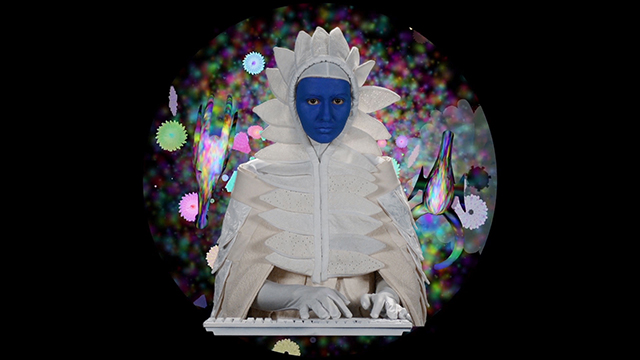 """""""ChimaCloud"""" was created during Woolfalk's Light Work 2015 UVP artist residency."""