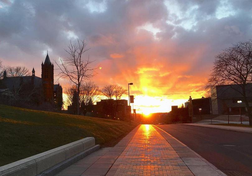 University Place sunset