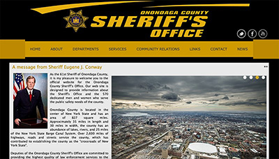 The Onondaga County Sheriff's Office website