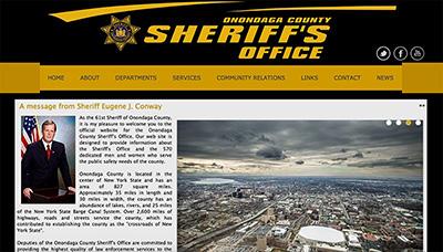 The Onondaga County Sheriff's Office website