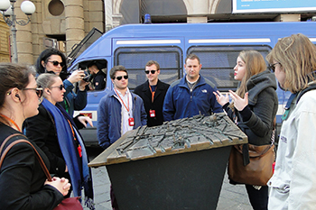 College of Law students tour Florence, where they learn about culture and land use.
