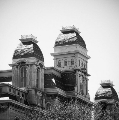 Hall of languages at Syracuse University