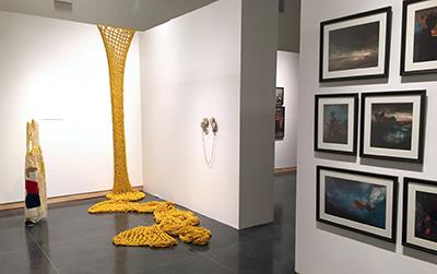 M.F.A. exhibition
