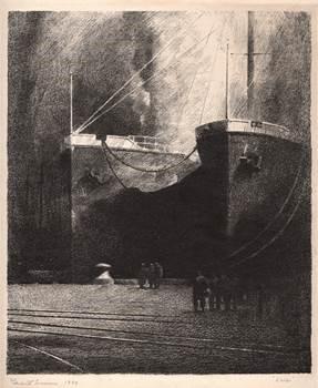 "Grant Miles Simon, ""Ships,"" 1940."