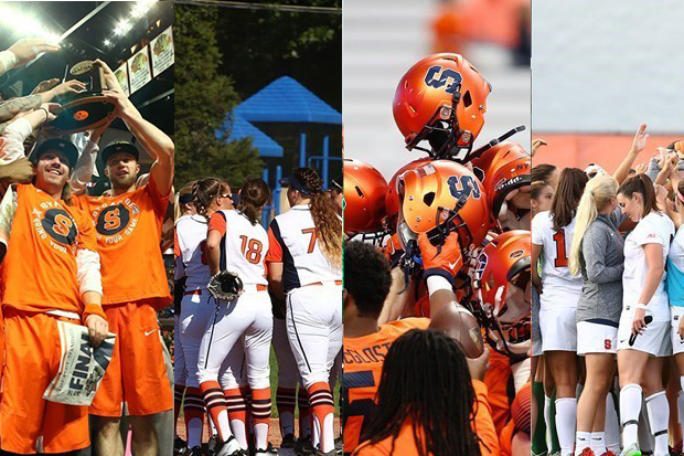 Syracuse's student-athletes are surpassing their peers across the country in the classroom.