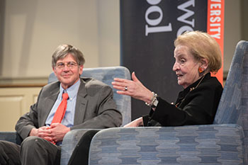 James Steinberg, Madeleine Albright