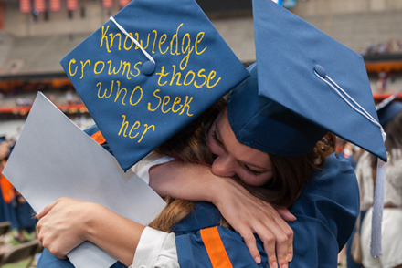 Commencement at Syracuse University