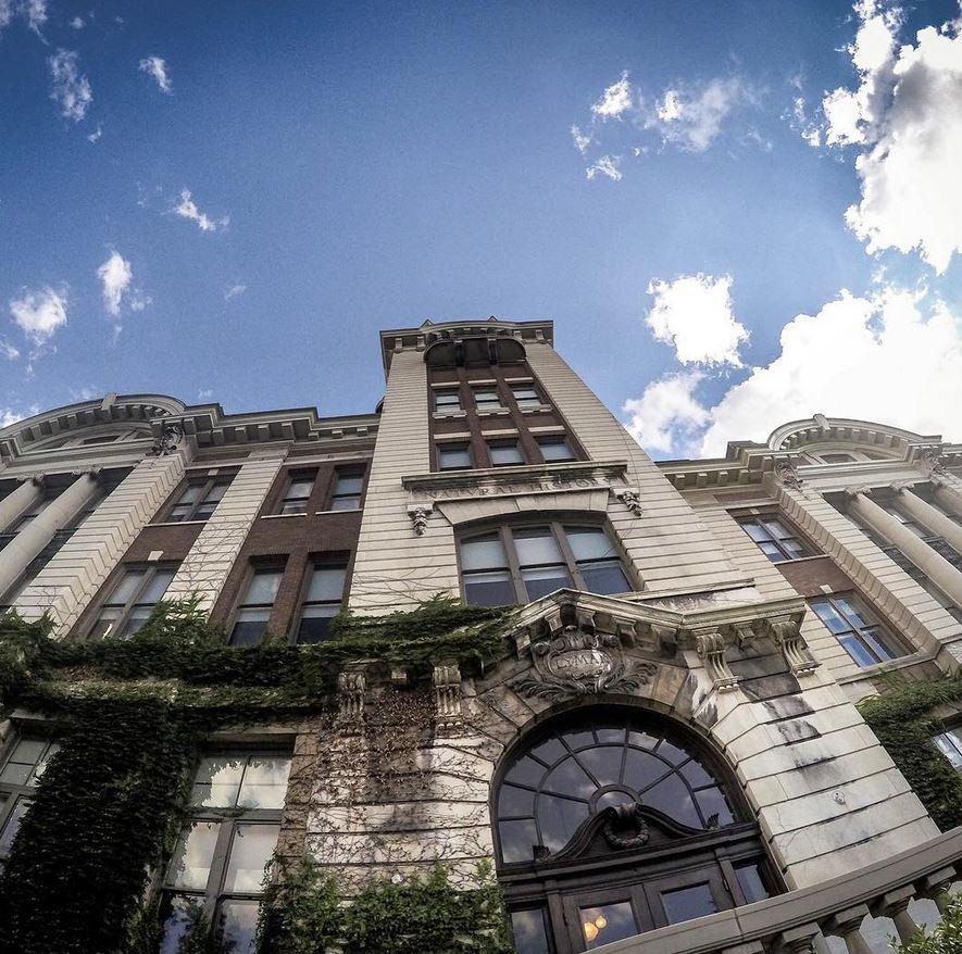 Lyman Hall — Photo by Matt Rusch