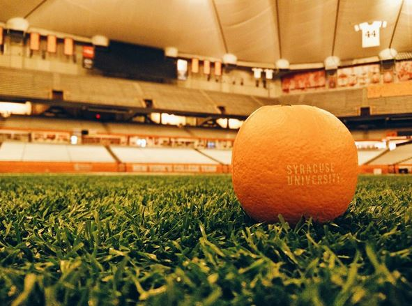 Orange in Carrier Dome