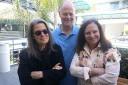 Bobbie Eisenstock, Steve Bradbury '80 and Linda Ellman, from left, are the instructors for the LA Semester's summer session.