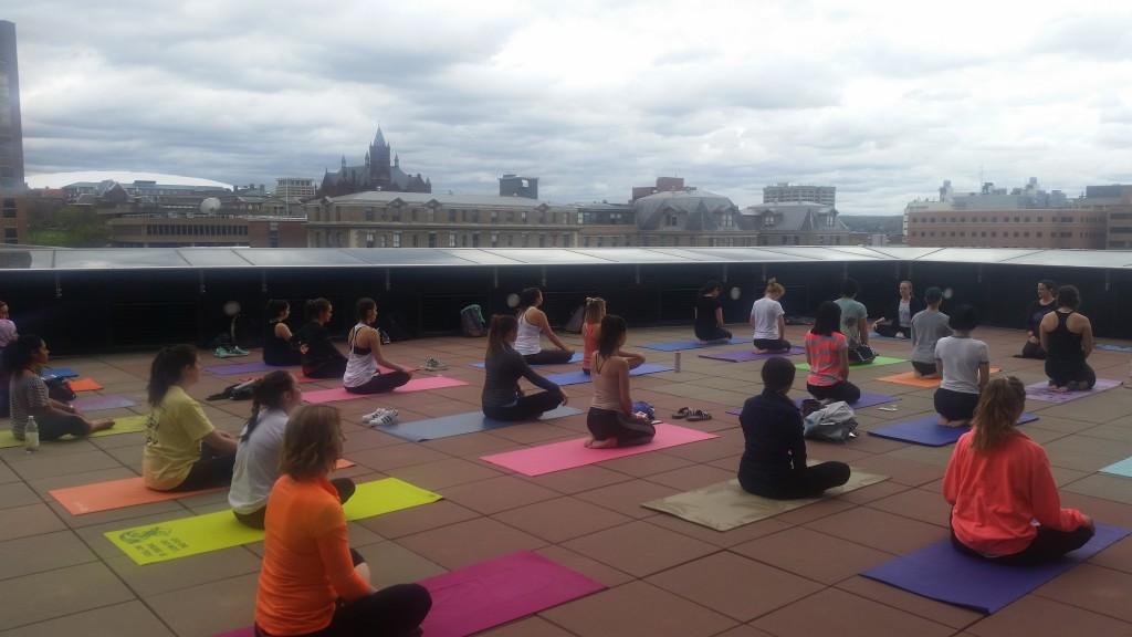 Whitman yoga