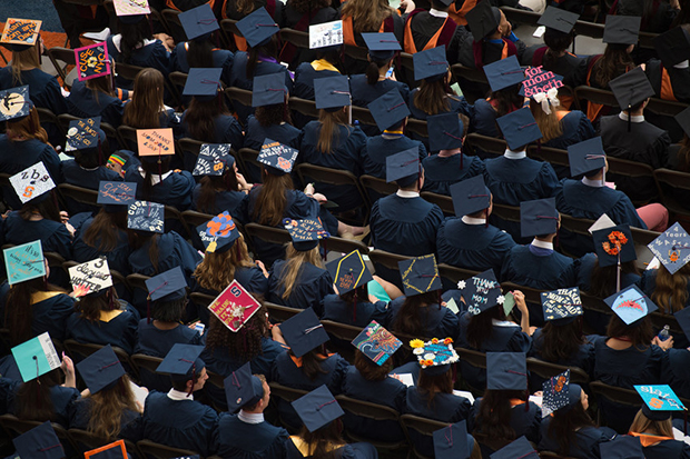 Commencement will take place on Sunday, May 15, in the Carrier Dome.