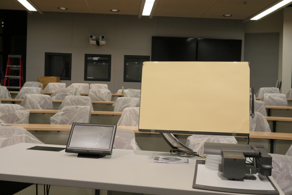Classroom with new technology