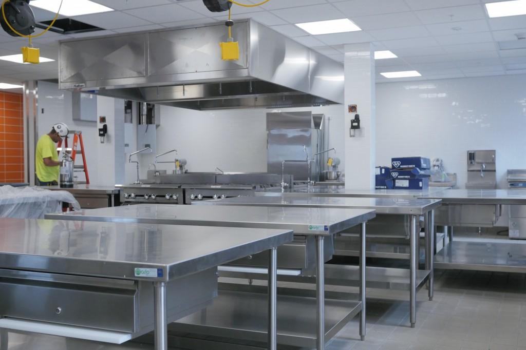 new kitchen in Falk College