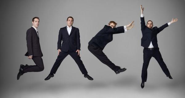 JACK members jumping