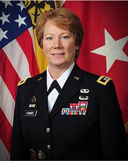 Maj Gen Peggy Combs