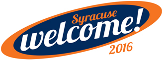 Syracuse welcome! 2016