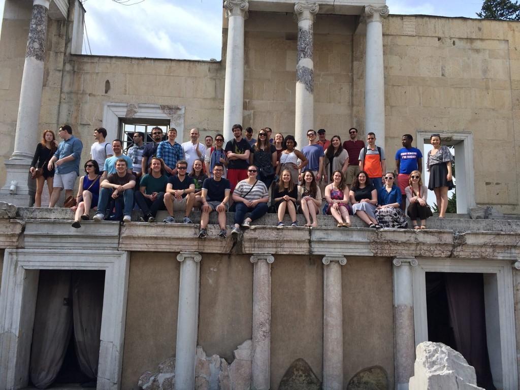University Singers Bulgaria Group Shot